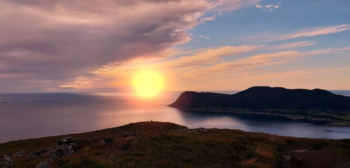 Sissels Grafiske Utsikt Havet Fake Sun 04